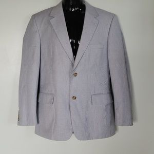 Men's Club Room Blue Sports Jacket 42R Macys